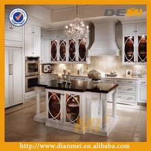 Unique white kitchen design with reliable quality