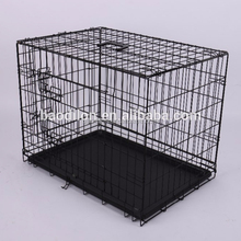 Folding metal wire dog cage dog crate