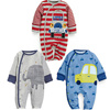 Cartoon Appliqued Baby Clothing Romper For Cotton Baby Clothes