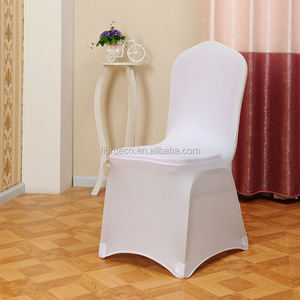Spandex chair cover white color 1 usd