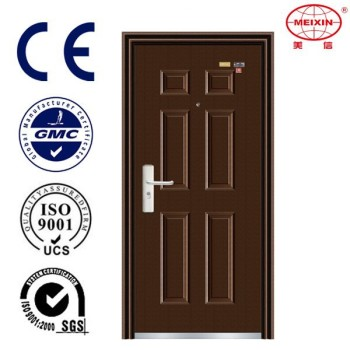 House Doors Powder-Coated Steel Safety Main Door Models