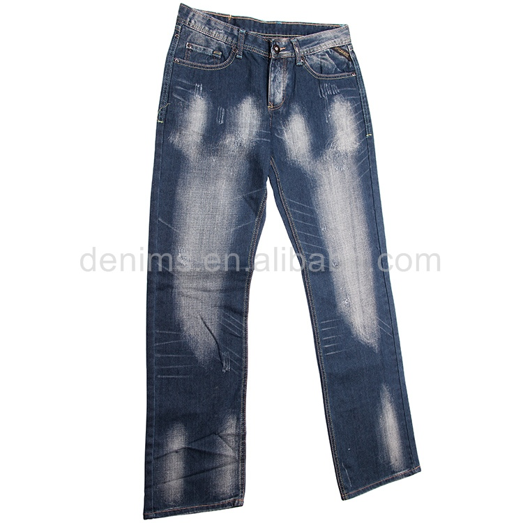 CJ-094-F1 china online selling branded denim jeans print funky men jeans