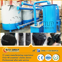 No smoke 12t per day coconut shell wood charcoal making carbonization machine