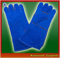 AXWG-08 safety gloves for welder/safety leather gloves for welders/CE leather safety gloves