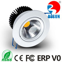 New design low height suspended 6w led ceiling downlight