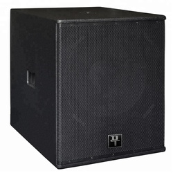 passive 18 inch subwoofer speaker box wood