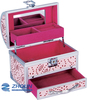 professional luxury aluminum beauty cosmetic box with mirror