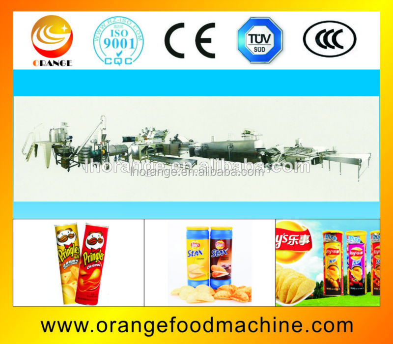 OR series Fully-automatic Frying & Flavoring system for Compound potato Chips