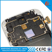 100% tested original replace lcd screen for samsung galaxy S4 i9500 display panel digitizer with frame