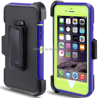 2 in1 Hybrid Slim Soft Rubber+Hard Protective Case Cover For iPhone 6 cell phone