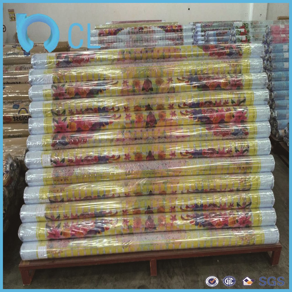 2017 roller soft anti water proof & moisture proof PVC protective film with printed picture