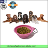 Merry Christmas gift premium silicone pet feeding foldable dog bowl with clip