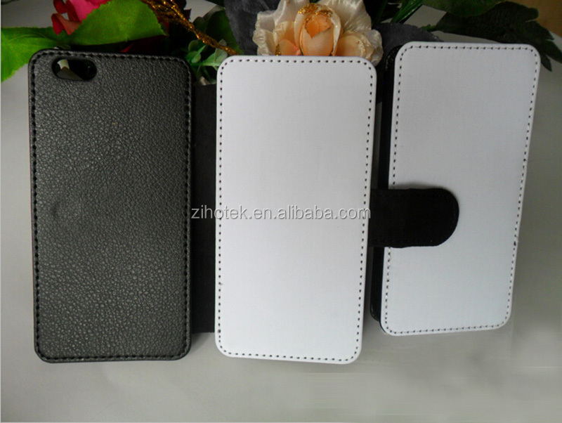 Blank sublimation leather cases for iPhone 6