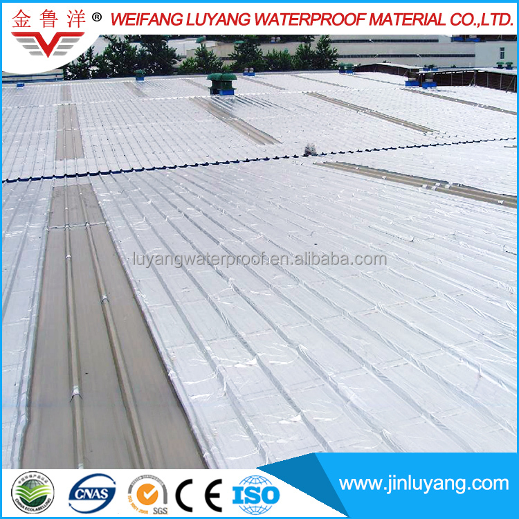Color Steel Tile SBS Modified Bitumen Self Adhesive Sheet Waterproof Membrane