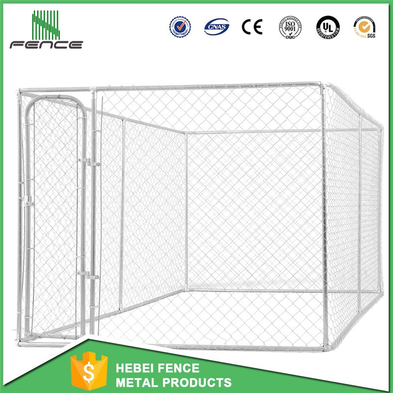 large outdoor modular galvanized steel waterproof dog kennel dog kennel design