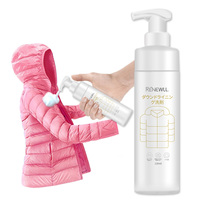 down coat dry cleaning agent set foam Down jacket cleaning liquid