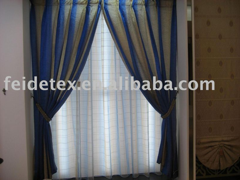 most hotsale professional textile manufacturer christmas kitchen curtains