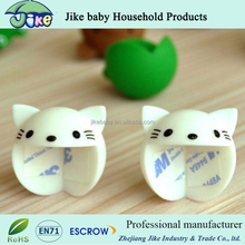 New style Cute colorful cat shape kids table cabinet corner protection