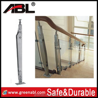 Greenable stainless steel modern banisters