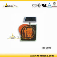 LED Solar Powered Informative Traffic Sign HX-SS08