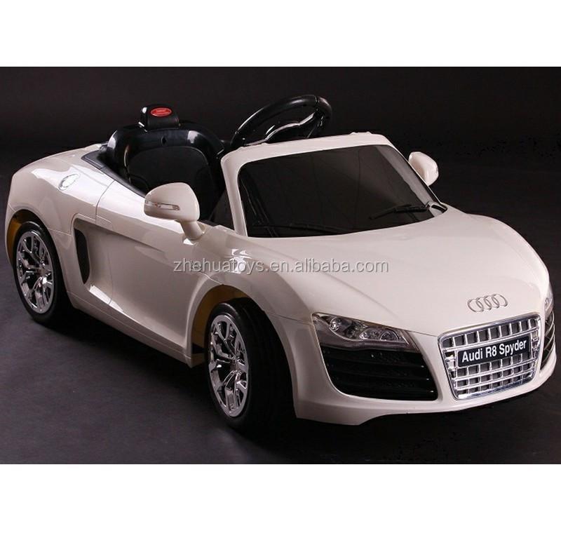 12 volt licence audi r8 voitures jouets lectriques pour. Black Bedroom Furniture Sets. Home Design Ideas