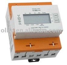 OM1250SE tri-phase 3-wire active energy electronic Watt-hour meter