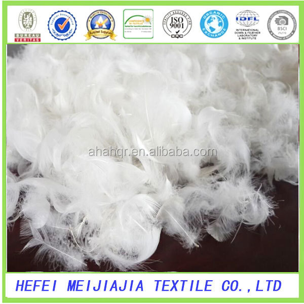 2-4cm,4-6cm washed white goose feather for sale
