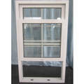 Good quality PVC double glazed impact single hung windows