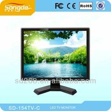 Cheap 15 inch american home lcd tv, hot sales in African ,middle east, South American