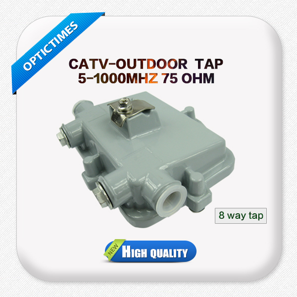 Hot selling 8 way outdoor tap off catv outdoor tap