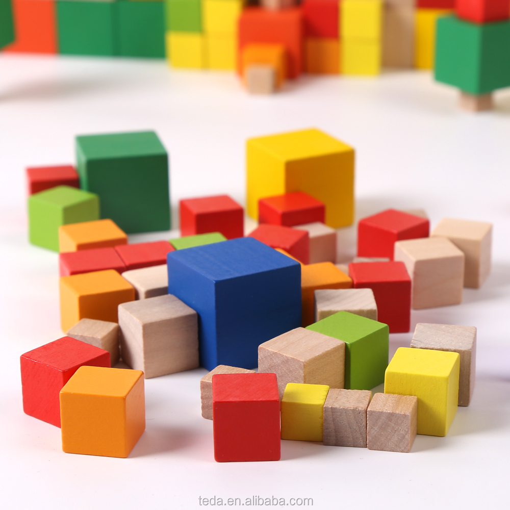 Wooden Thousand Cubes Montessori toy of Montessori material