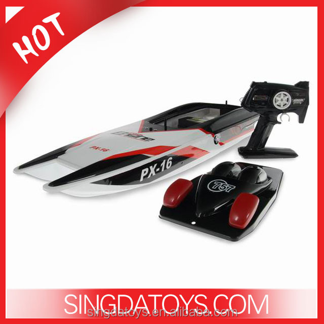 757-6016 Storm NQD Twin Motor PX-16 RC Speed Boat