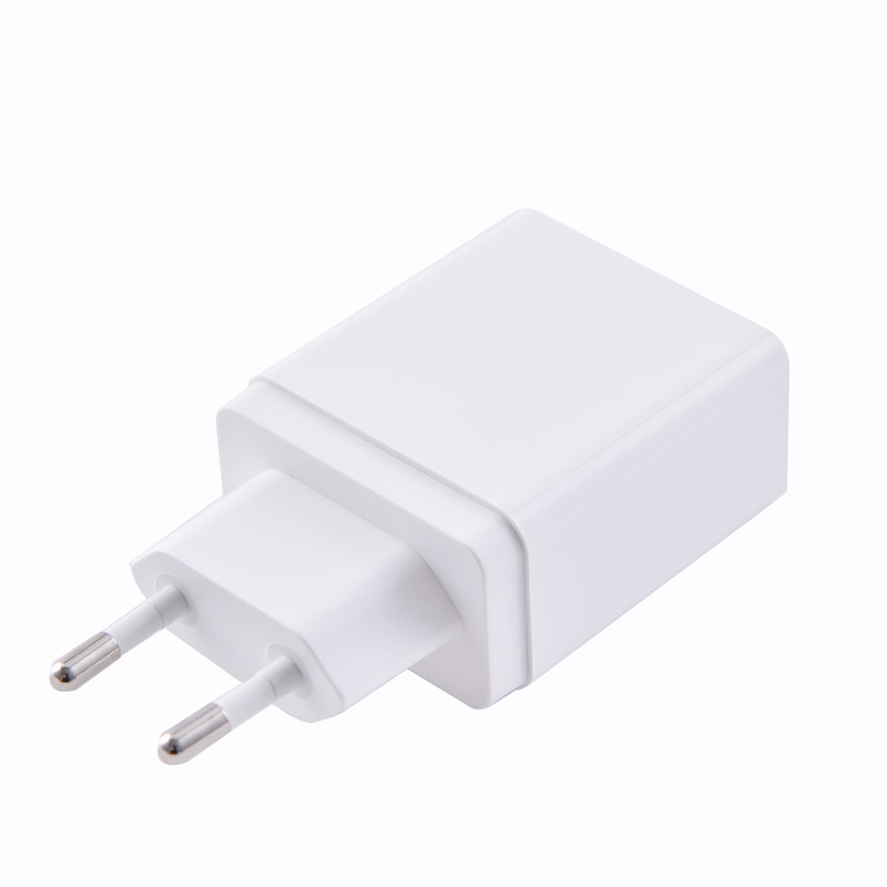 Mobile Parts 2 Port Wall Charger Usb Power Adapter Qc 3.0 Wall Charger