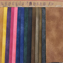 New Fashionable Design Yangbuck PU Synthetic Leather for Shoes, Bags, (HS-Y24)