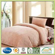 Clean color caroset bedding set embossing flannel bedding set womens bath robes plus size