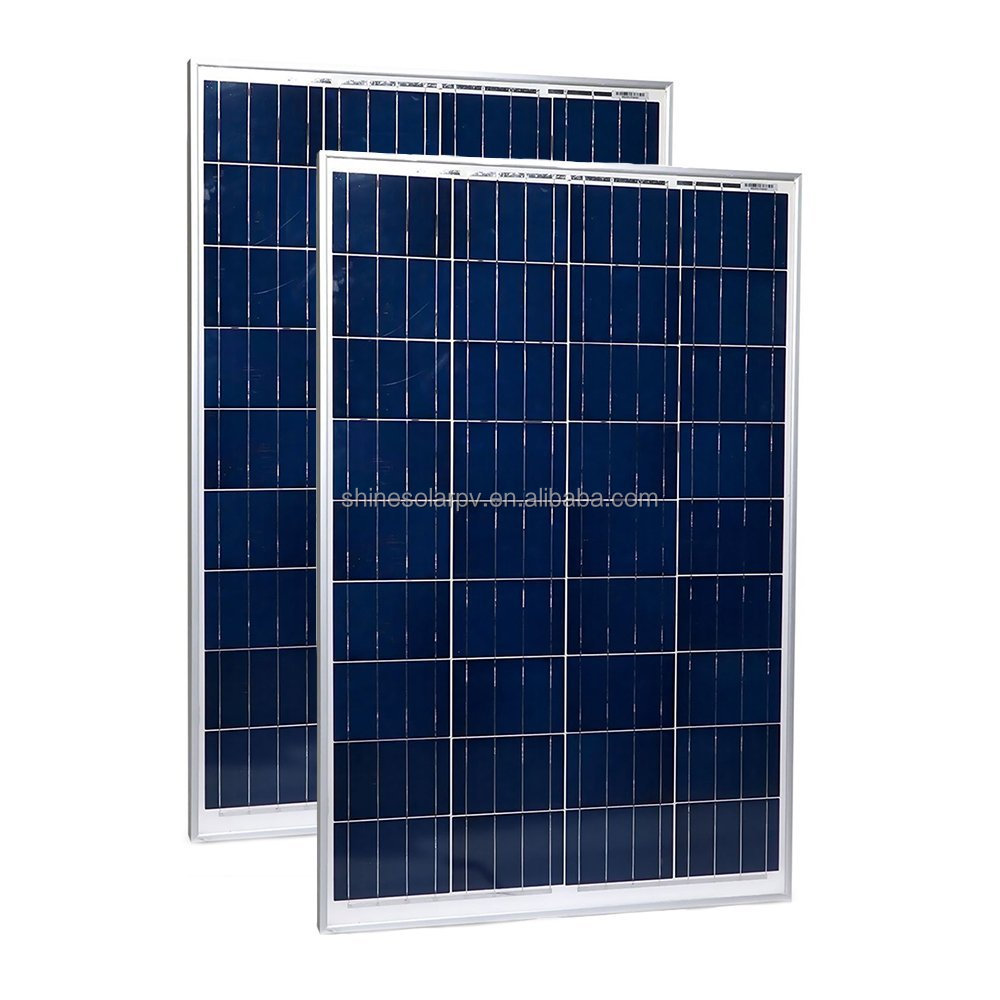 Poly Crystalline Photovoltaic Module 100W 200W 300W Solar Panel for home solar system