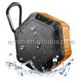waterproof bluetooth speaker with TF card,promotional gift bluetooth speaker in factory price