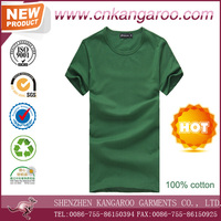 Customize 100% Cotton Plain Printing Promotional T shirt Wholesale China