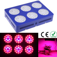 Full Spectrum 108*3W LED Plants Grow Light Hydroponic Lamp with Cooling Fan for Indoor Flower Fruit Growth Greenhouse AC85-265V