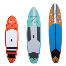 portable SUP surfboard inflatable surfing board enjoy yoga on water