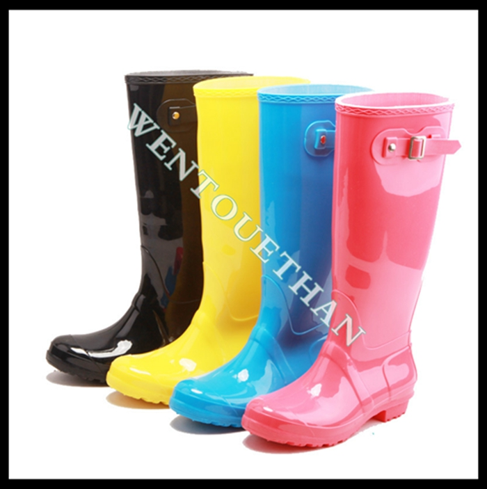 Monogrammed Christmas Women Boots Hunter Rain Boots