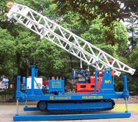 Geological exploration drilling machine with crawler GXYL-1