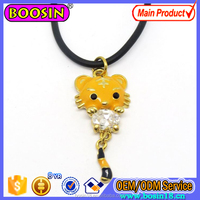 New Fashion Cute Enamel Animal Boy and Girl Charm Pendant Necklace Choker Chain Necklace #18061