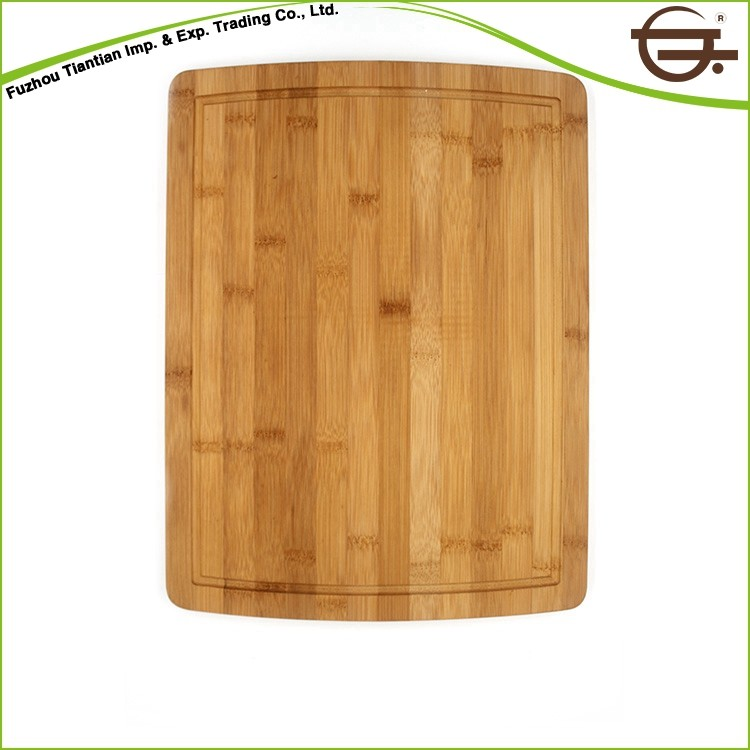 FDA/SGS Certificate Square Nature Bamboo Cutting Board Kitchen