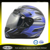 Cheap black blue DOT youth full face motorcycle helmet