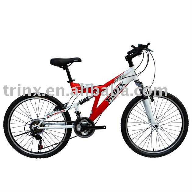 "TRINX WHOLESALE 24"" FULL SUSPENSION MOUNTAIN BIKE"