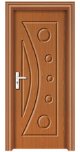 PVC latest design wooden doors