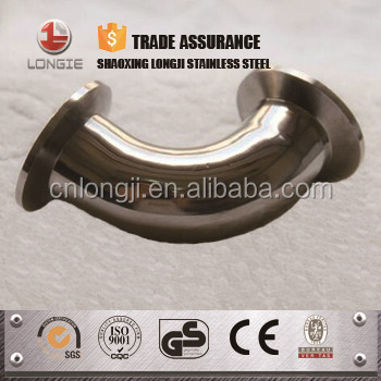 stainless steel pipe reducer / tee / bend