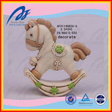 Cute Polyresin Hobbyhorse new born baby gifts