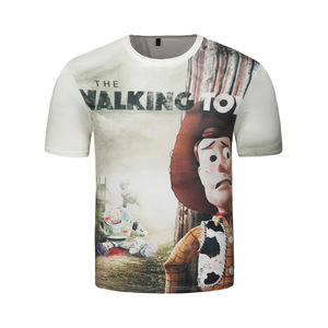 Factory Custom Man's New Design Cartoon Design T Shirts